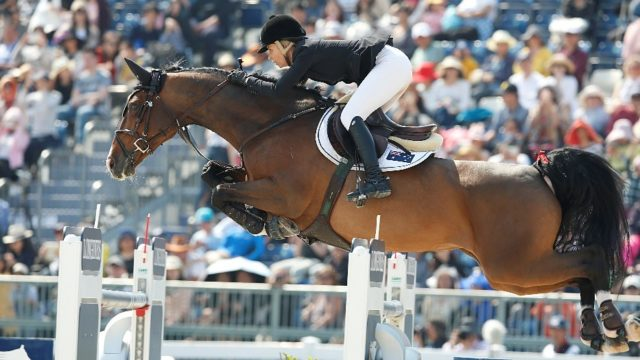 RED MILLS riders get set to compete on the world stage