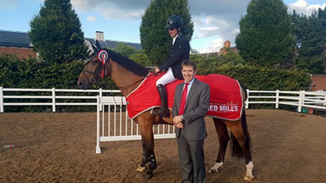 Irish Win RED MILLS International First Qualifier at the Dublin Horse Show