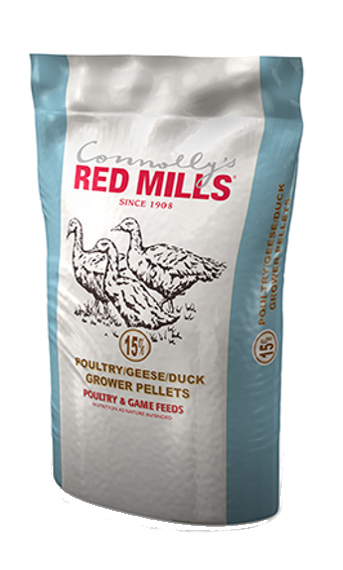 15% Poultry/Geese/Duck Grower Pellets