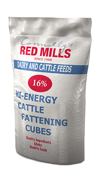 16% Hi-Energy Cattle Fattening Cubes + Yeast