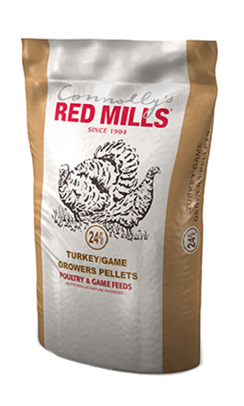 24% Turkey/Game Growers Pellets