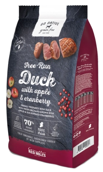 Go Native Duck with apple and cranberry