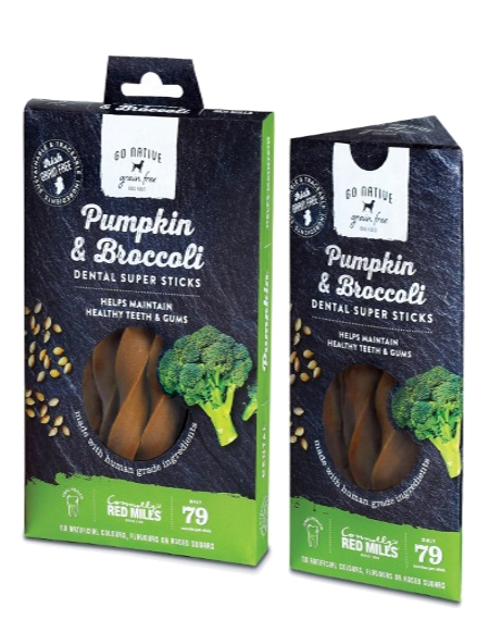Go Native Dental Super Sticks with Pumpkin & Broccoli