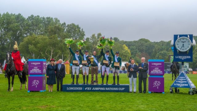 Magnificent Ireland win Battle of Britain as Longines FEI Nations Cup at Hickstead serves up a thriller