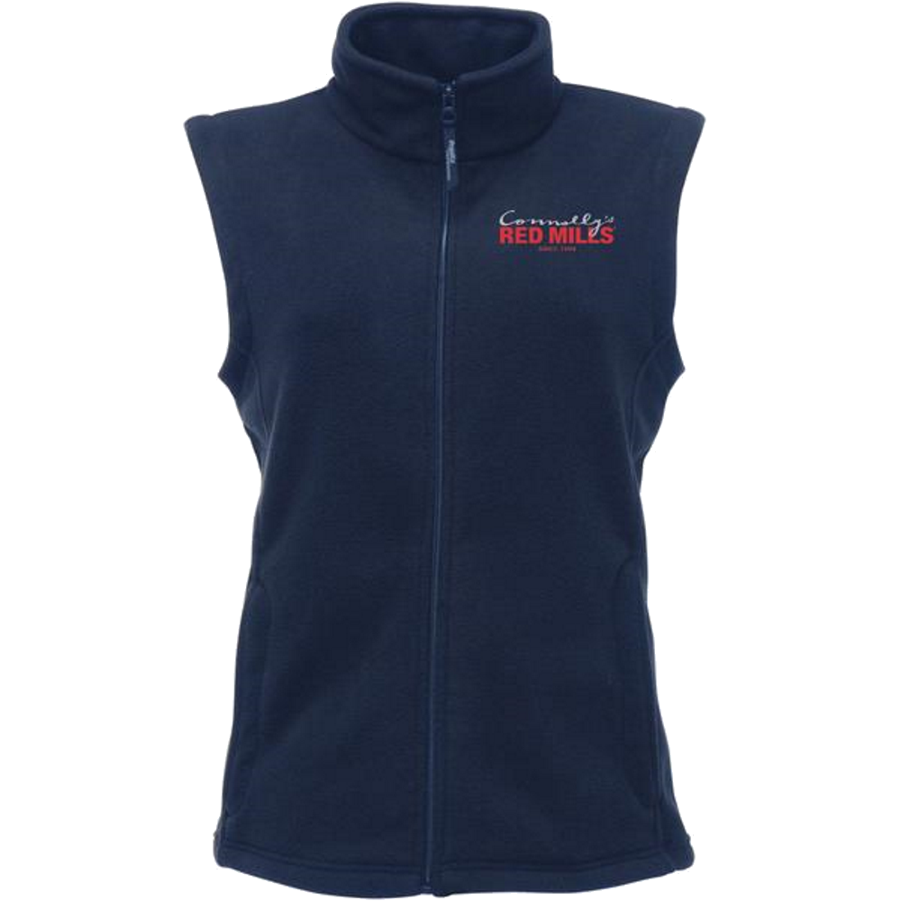 RED MILLS womens fleece gilet in navy