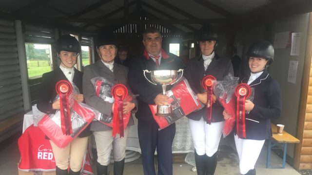 Kilkenny club wins Connolly's Red Mills team dressage title