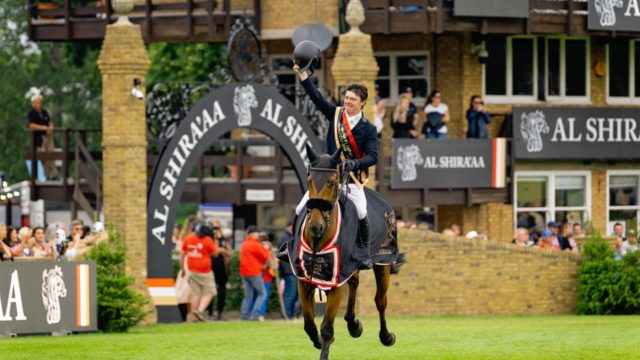 History made as Michael Pender becomes youngest ever winner of the Hickstead Derby