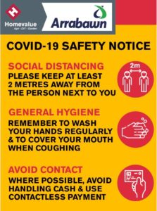 Safety Notice for Arrabawn Co Op