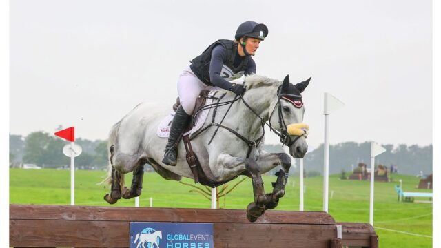 RED MILLS Rider Elizabeth Power wins big at Kilguilkey Home International